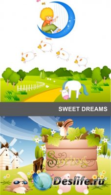 Векторный клипарт - Sweet dreams