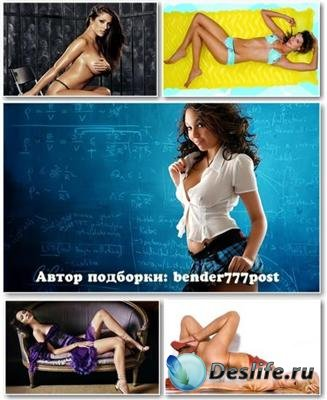 Обои для рабочего стола - Wallpapers Sexy Girls Pack №91
