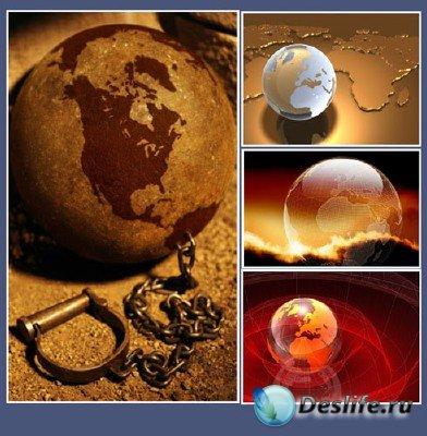 Большая подборка на тему глобусов Земли