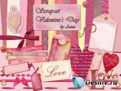 Скрап-набор – День Святого Валентина