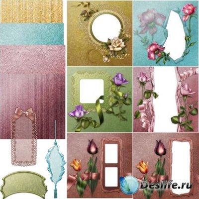 Цветочные страницы, бумаги и признаки