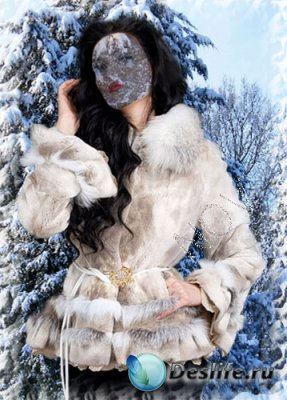 Костюм для фотошопа - Зимний лес
