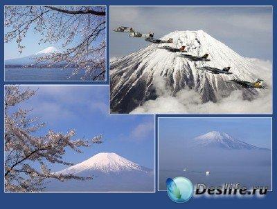 Вокруг света (подборка №4 - Священная гора Фудзияма в фотографиях)