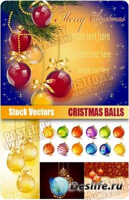 Stock Vectors - Cristmas Balls