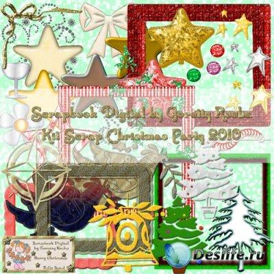 Скрап набор – Christmas Party 2010