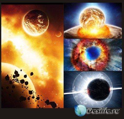 Величие и красота вселенной - подборка №2 (Катаклизмы в космосе)