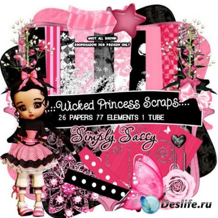 Скрап набор – Wicked Princess Scraps