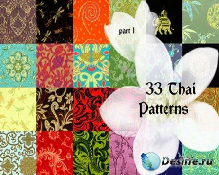 33 тайских текстуры для фотошопа