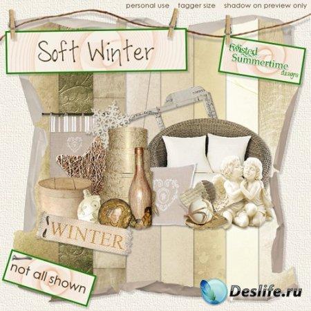 Скрап набор – Soft Winter