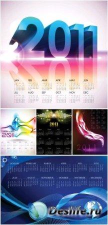 Календари для фотошопа - 2011 год (Часть 4)