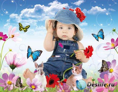 Костюм детский для фотошопа – Моя зайка