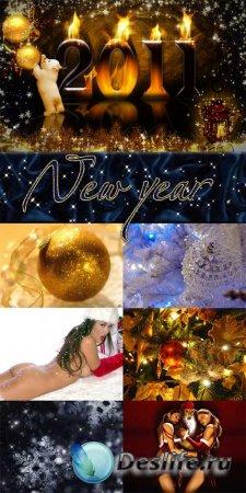 New year – Коллекция новогодних обоев
