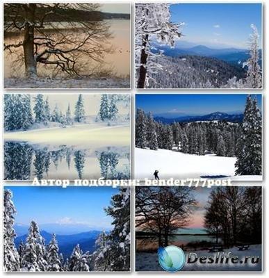 Обои для рабочего стола - Чудесные снежные места №3