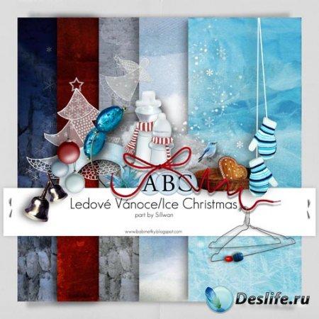 Скрап набор – Ice Christmas