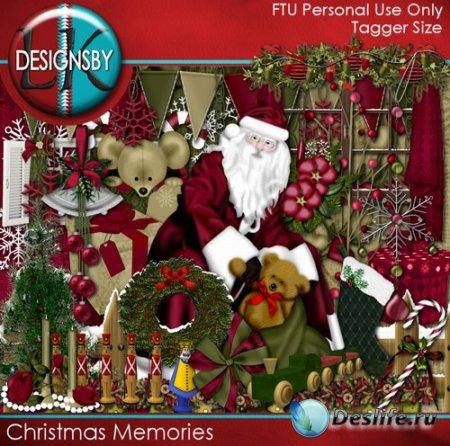 Скрап набор – Christmas Memories