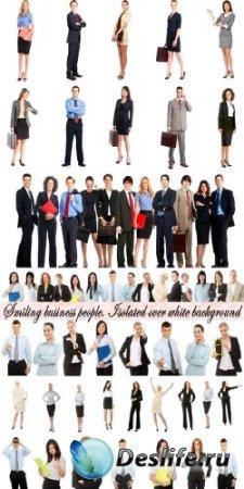 Фотосток - Улыбающиеся деловые люди
