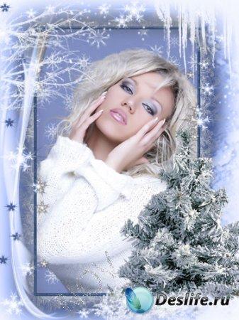 Рамочка для фотошопа - Ожидание зимы