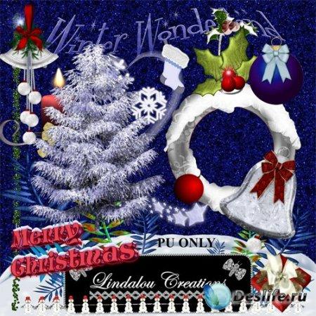 Скрап набор – Merry Christmas