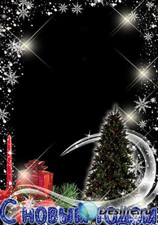 Рамка на новый год - Новогоднее волшебство