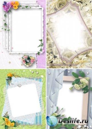 Свадебные фоторамки (Часть-1)