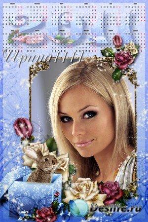 Календарь на 2011 год для фотошопа - Чувства