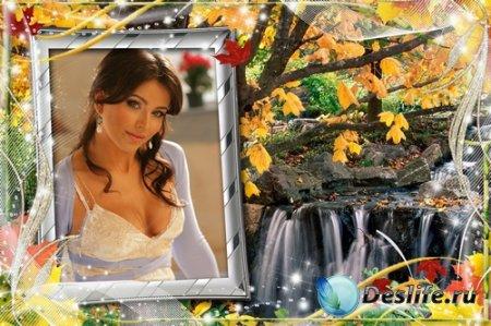 Рамочки для оформления фото - Осенняя природа