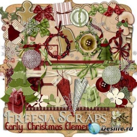 Элементы из Скрап-набора – Early Christmas Elements
