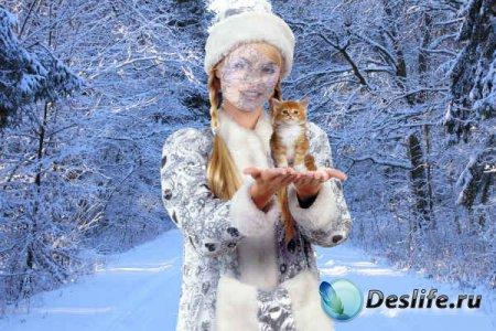 Костюм для Photoshopa - Снегурочка