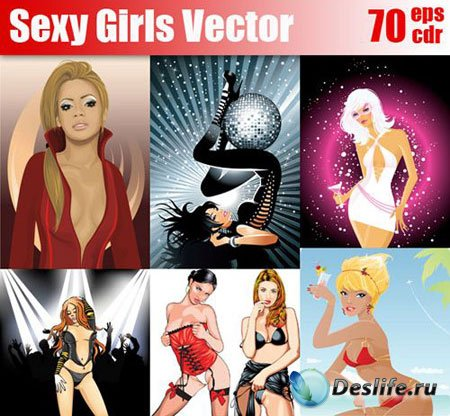 Sexy Girls Vector - Секси-девочки в векторе