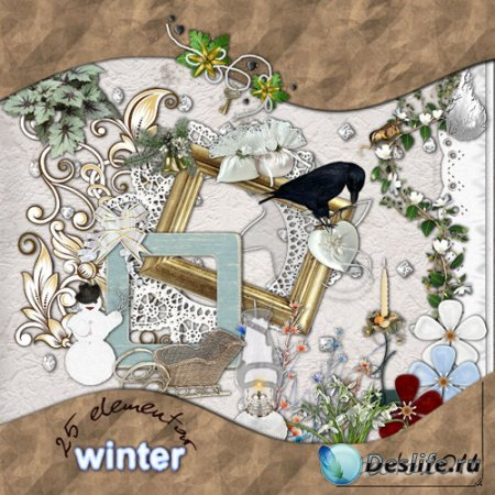 Cкрап-набор – Winter
