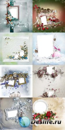 Красивые зимние скрап-странички