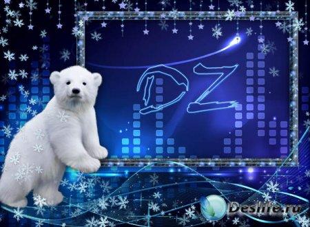 Рамка с медвежонком