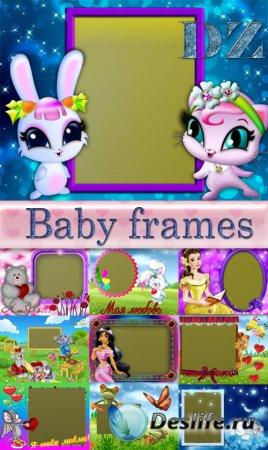 Набор детских рамочек для фото - Baby frames