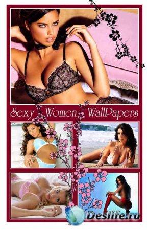 Обои - Красивые девушки (wallpapers)