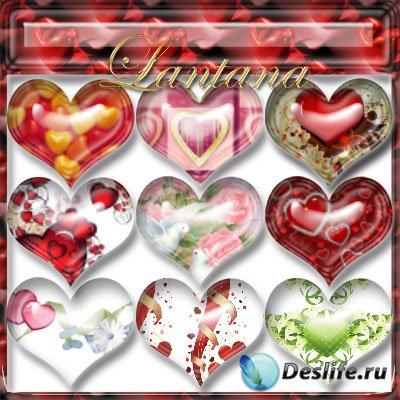 Стили для фотошопа - День Святого Валентина