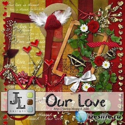 Скрап набор - Our Love