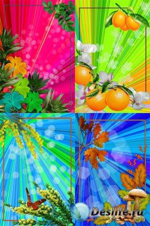 Яркие фоны для фотошопа