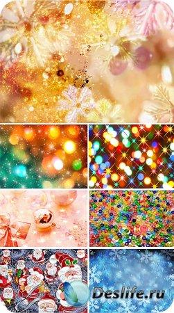 Красочные праздничные фоны для фотошопа