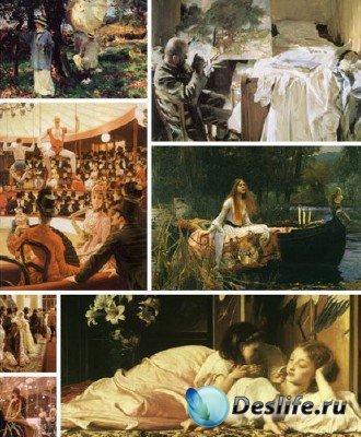 В мире искусства  - Подборка №2 (работы живописцев викторианской эпохи)