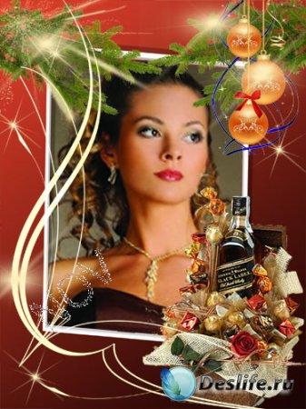 Рамочка для фотошопа - Новогодние желания