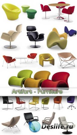 3D модели - Artifort Furniture