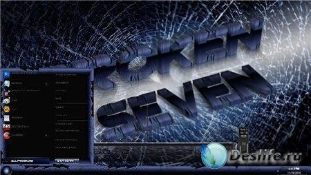 Тема Windows 7 - Broken7