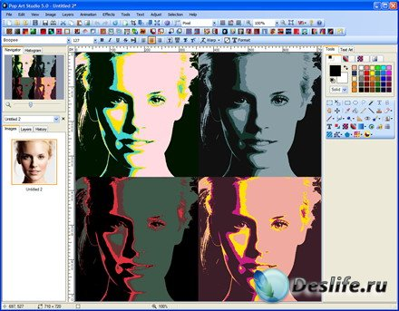 Fotoview Pop Art Studio v.5.2 Batch Edition