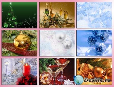 Новогодние фоны 2