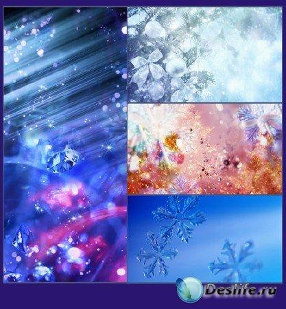 Новогодний винегрет - подборка №3 (фоновые картинки)
