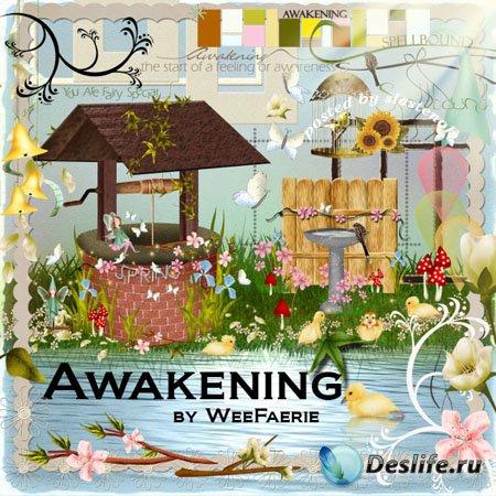 Скрап-набор - Прогулка (Awakening)