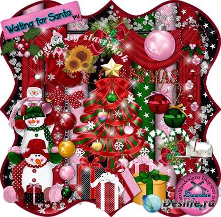 Скрап-набор - Ожидание Санты (Waiting for Santa)