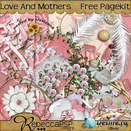 Скрап-набор - Любовь и мамы (Love and mothers)