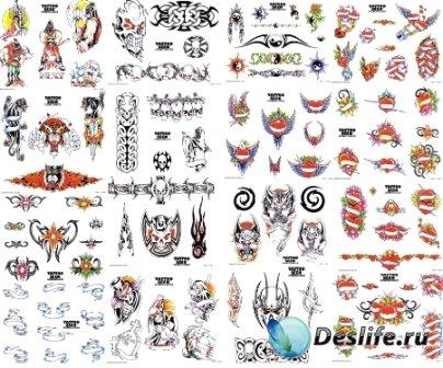 Для фотошопа татуировки для