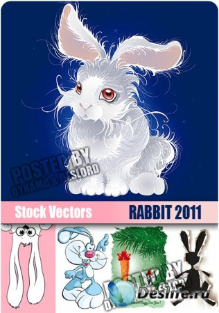 Stock Vectors - Rabbit 2011